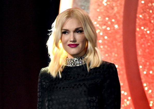 LOS ANGELES, CA - MAY 01: Singer Gwen Stefani speaks onstage during the 2014 iHeartRadio Music Awards held at The Shrine Auditorium on May 1, 2014 in Los Angeles, California. iHeartRadio Music Awards are being broadcast live on NBC. (Photo by Kevin Winter/Getty Images for Clear Channel)