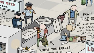 All The Airport Travel Hacks You Need In One Handy Infographic