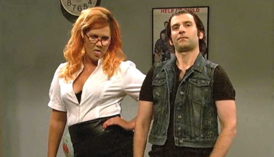 'SNL' Imagined What Amy Schumer Starring In A Cheesy Porno Would Look Like
