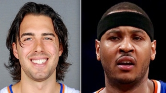 Carmelo Anthony Admits He 'Hated' New Teammate Sasha Vujacic Back In The Day