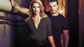 Stephen Amell & Emily Bett Rickards of 'Arrow' loved working with director Lexi Alexander