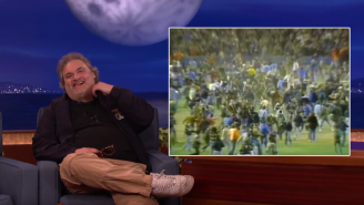 Artie Lange Recalled The Time His Father Tossed Him Onto The Field At The 1977 World Series