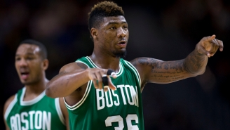 Marcus Smart Didn't Fool The Officials With This Outrageous Flop
