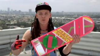 Just In Time For 'Back To The Future' Day, Here's The First Official (And Totally Fake) Hoverboard Commercial