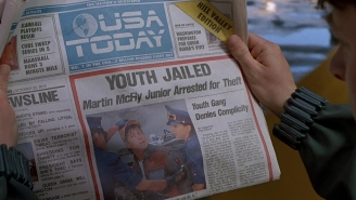 USA Today just erased from existence this sad reference in 'Back to the Future'