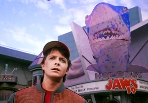 Universal Created This 'Jaws 19' Trailer As A Humorous Tribute To 'Back To The Future'