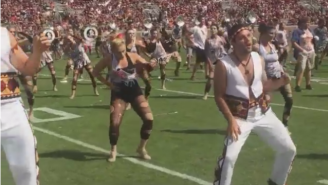 The Florida State Band Celebrated Halloween With A Great 'Thriller' Performance