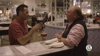 Watch Mario Batali And Sam Calagione Brew Top-Notch Pruno Out Of Food Scraps