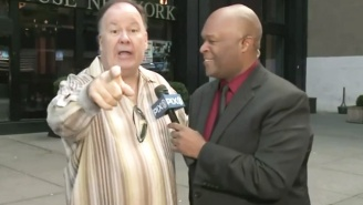 Watch Mr. Belding Crash A Live News Report And Continue To Live His Best Life