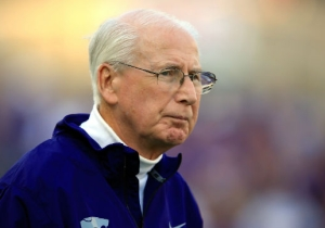 Bill Snyder Got Taken Out By A Player, Was Fine, Is The Man