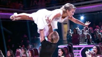 Watch Bindi Irwin Nail The 'Dirty Dancing' Final Dance Sequence On 'Dancing With The Stars'