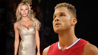 Sounds Like SI Swimsuit Model Samantha Hoopes Really Likes Blake Griffin