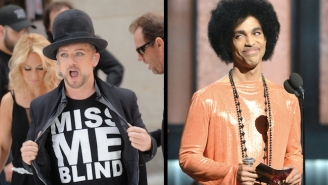 Boy George Claims He's Slept With Prince, Only To Quickly Take It Back