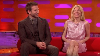 Bradley Cooper And Sienna Miller Learn About The Art of 'Nutscaping' on 'The Graham Norton Show'