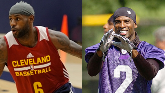 Why Is LeBron James Wearing No. 6 At Practice? 'It's Like Deion Sanders,' He Says