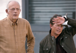 Watch Michael J. Fox And Christopher Lloyd Back Together For 'Back To The Future' Day