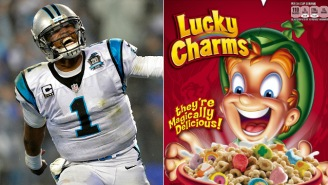 Cam Newton Is Super Serious About Cereal, Eats Like A 12-Year-Old