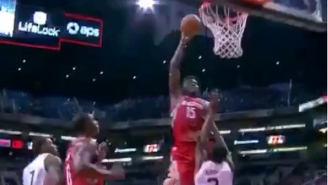 Clint Capela Put Poor Brandon Knight On Yet Another Poster Tuesday Night