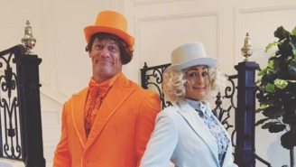 Watch John Cena And Nikki Bella Perfectly Nail This 'Dumb And Dumber' Scene