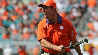 A Fan Followed Up On His Promise To Get A Dabo Swinney Tattoo If Clemson Made The Playoffs