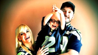 Chris Pratt And Anna Faris' Adorable Son Gave The Best Name To A Penguin