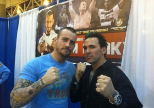The Green Power Ranger Is Still Angling For A UFC Fight With CM Punk: 'I'm In His Head'