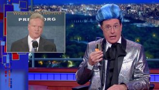 Watch Stephen Colbert turn the presidential campaign into 'The Hunger Games'