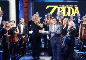 This 'Legend Of Zelda' Orchestra Brings Their Classical Take On Hyrule To 'The Late Show'