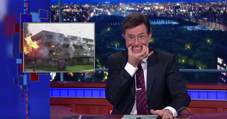 Watch Stephen Colbert Attempt To Work Through The Insanity Happening In The Halls Of Congress