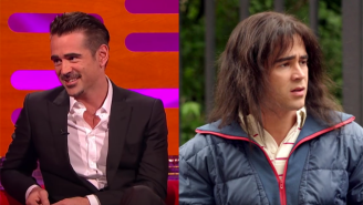 Colin Farrell Looks Back Over His History Of Bad Hair On Film On 'Graham Norton'