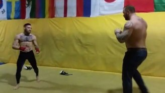 Watch UFC Fighter Conor McGregor Take On The Mountain From 'Game Of Thrones'
