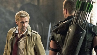 Constantine returns! Stephen Amell talks working with the Hellblazer on 'Arrow'