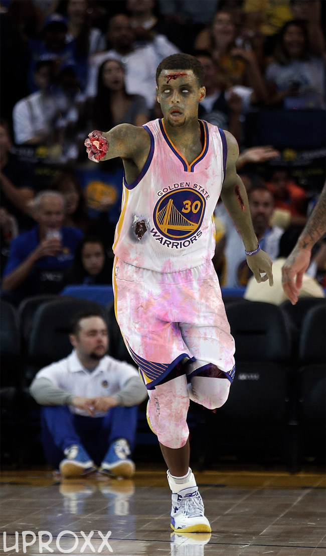 Death Curry attempts to signal that he is open