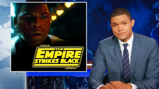 'The Daily Show' Discussed The 'Racist' Boycott Against 'Star Wars' By Tackling The Real Issue