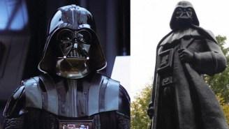 Some Ukrainian 'Star Wars' Fans Transformed This Lenin Statue Into Darth Vader