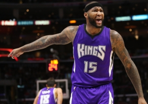 Here's DeMarcus Cousins Cursing Out The Ref During A Training Camp Scrimmage