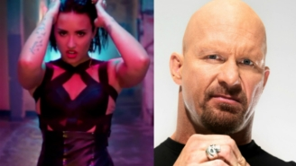 Demi Lovato Meets Stone Cold Steve Austin In This Great But Unnecessary Mashup
