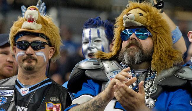 Detroit Lions fans