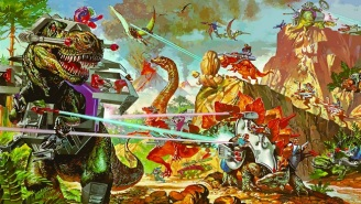 'Dino-Riders' Is The Next '80s Toy Line Coming To Theaters