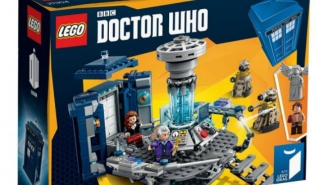 Here's Your First Full Look At The New 'Doctor Who' LEGO Set