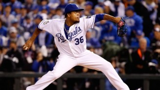 Edinson Volquez's Father Died Before The World Series, And It's Unclear If The Royals Starter Knows