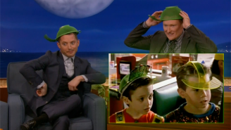 Elijah Wood Relived His 'Back To The Future Part II' Fashion Choices On 'Conan'