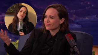 Ellen Page And Her Hairbrush Take Center Stage In This Odd Stand-Up Audition For 'Conan'