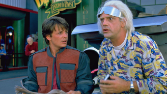 Everything wrong with 'Back to the Future 2' is no one has peripheral vision