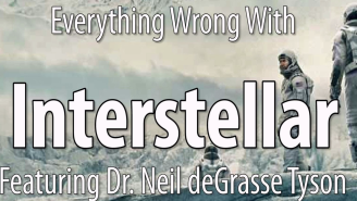 Neil deGrasse Tyson assists in pointing out everything wrong with 'Interstellar'