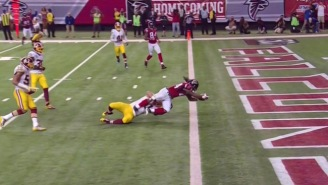 Devonta Freeman Lost A Touchdown With This Bizarre Incomplete Pass Ruling