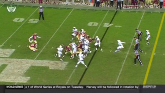 Watch Georgia Tech's Improbable Last-Second Blocked FG Return Against Florida State