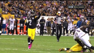 Here's Michael Vick's First Touchdown Pass With The Pittsburgh Steelers
