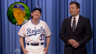 Bret Saberhagen's Terrible '80s Rap Commercial Goes To The Next Level In This 'Tonight Show' Sketch