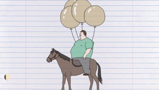 What's On Tonight: Nathan Fielder Helps Overweight People Ride Horses
